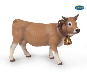 Papo-51152-Allgaeuer-Kuh-12-cm-Bauernhoftiere