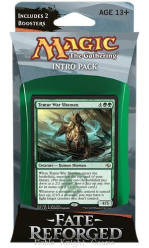 Magic The Gathering MTG Fate Reforged Surprise Attack Intro Pack