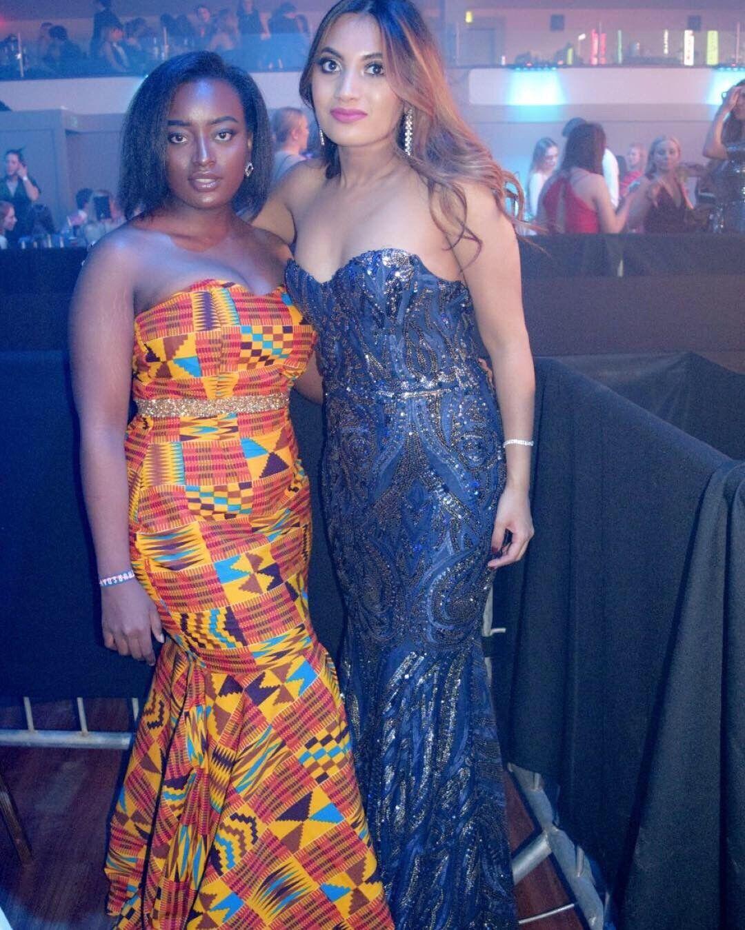 African Ankara Ghanian Dress Ball Gown Prom dress