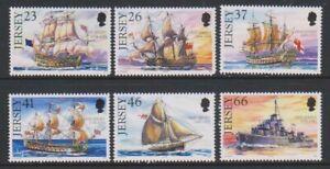 Jersey-2001-Royal-Marine-Expedie-1st-Series-Ensemble-MNH-Sg-979-84