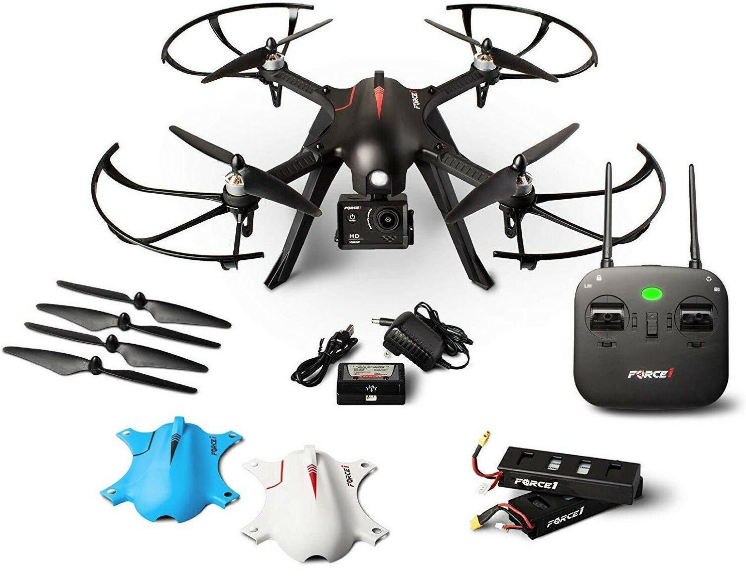 1080p Go Pro F100 Ghost Drones With Camera RC Brushless Long Range Extra Batter