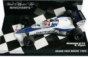 MINICHAMPS-430-830005-920007-BRABHAM-BT52-BT60-model-cars-Piquet-D-Hill-1-43
