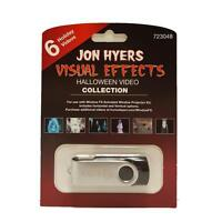 Halloween Window Fx Jon Hyers Collection Usb W/6 Videos For Projector Brand