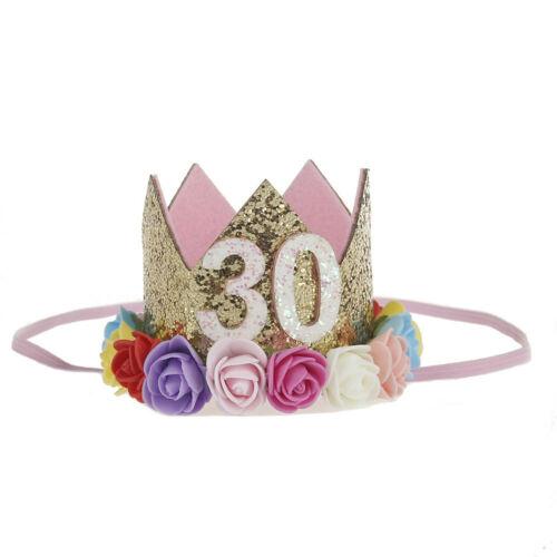Baby Toddler Boy Girl Flower Crown Garland Headwear Headband Hair Accessories