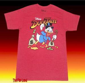 389c63a7 New Disney's Duck Tales Scrooge McDuck 1987 Men's DuckTalesClassic T ...