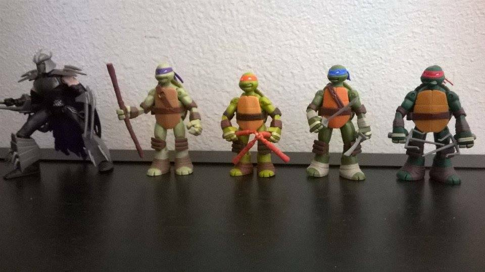TMNT Battle Shell Lot Loose 5in. Action Figure Collection