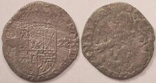Franche-Comté, Dole, Philippe IV, Demi-gros de billon 1622, Assez rare !!