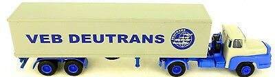 Toys, Hobbies Automotive Deutrans Veb Gray Truck Semi-trailer H0 1:87 La4 Å Durable Modeling