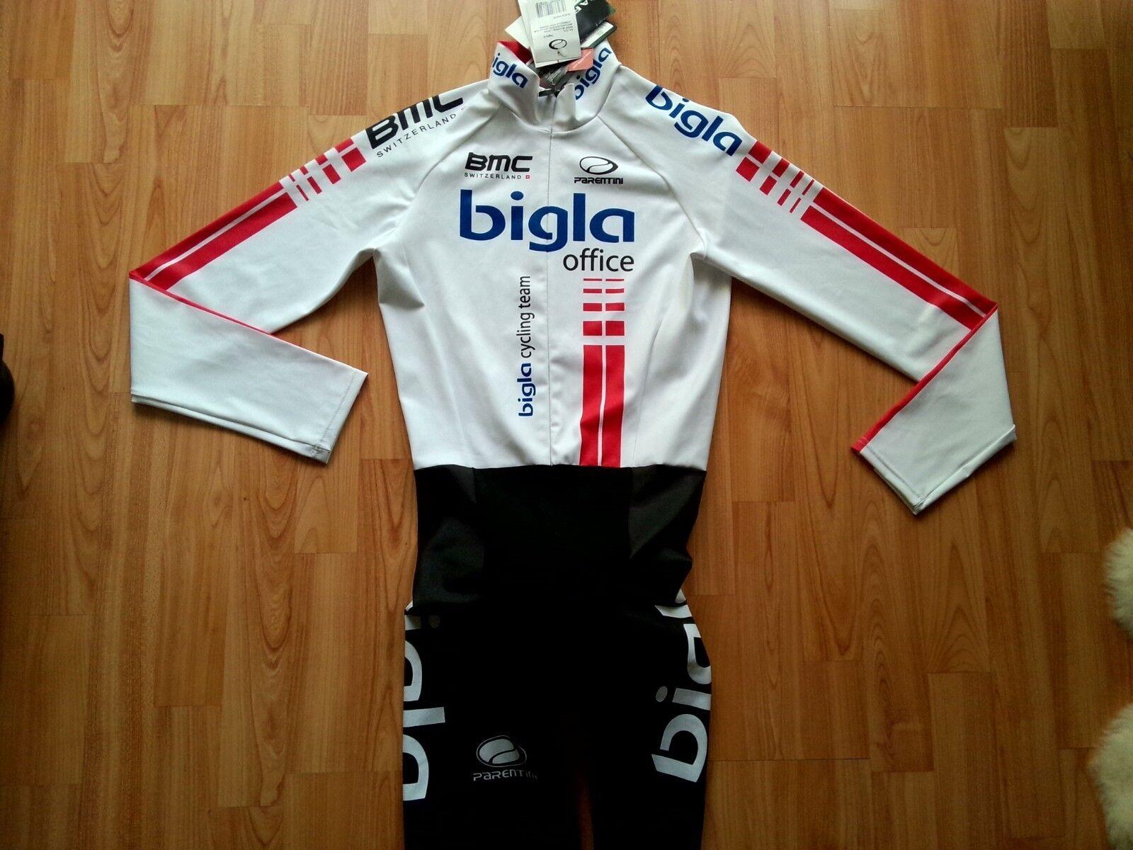 BMC Bigla Cycling Team Womens Long Sleeve Skinsuit Chronosuit  Parentini Size  S