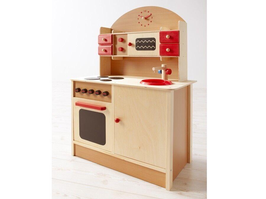 Kinderküche mit mit mit Ofen Mikrowelle und Bildung Uhr 07ceb3