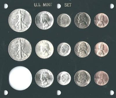 1993 Washington Quarter Coin Set 1-D /& 1-P Brilliant Uncirculated Mint Set Coins