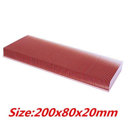 DIY Pure Copper Heatsink 100x50x15mm Electronic RAM Chip Led Heat Dissipation