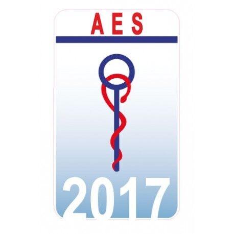 Caducée AES accompagnant Educatif Social Date au choix sticker