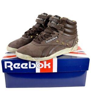 Reebok Classic Freestyle FS HI Damen Leder Schuhe Sneaker