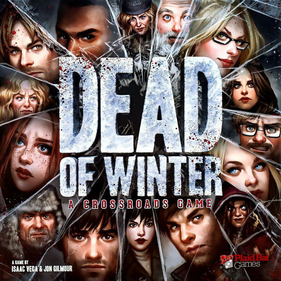Dead of Winter A Crossroads Game - New, with expansion and promo cards