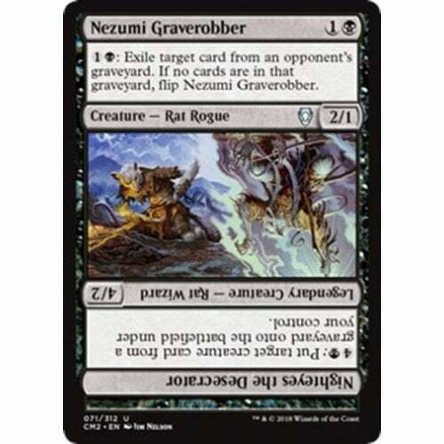 Nezumi Graverobber MTG COMMANDER ANTHOLOGY VOLUME II