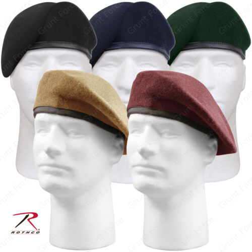 Type Inspection Ready Beret 6½-7¾ Military Style Made to Mil Spec Rothco G.I