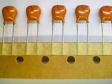 Lot of 5 Philips Solid Aluminium Electrolytic Capacitor 1.5uF 40V 2222 128 27158