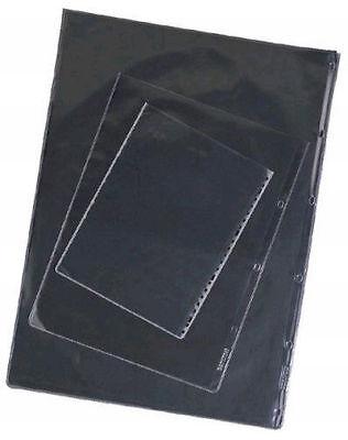 10 A4 Cartera Mangas-vidrio Claro-ácido Libre Volumen Grande