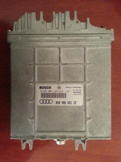 Audi Motor ECU Engine Module Unit Steuergerät  028906021ce 0281001425 0281001426
