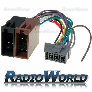 ISO-Wiring-Harness-Stereo-Radio-Connector-Adaptor-Cable-Loom-Panasonic-16-Pin