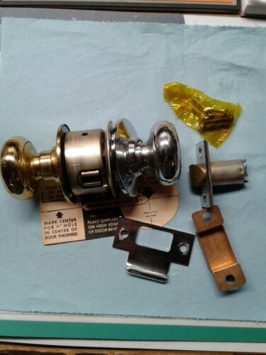 x 626 26 Schlage Passage A10S PLY 605 Brass and Chrome Old Stock Grade 2 3