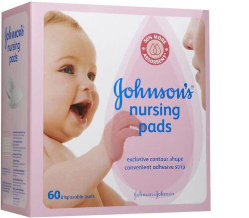 JOHNSON/'S Nursing Pads 60 Each Pack of 8
