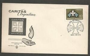 ARGENTINA-1966-Caritas-Emblem-FD-COVER