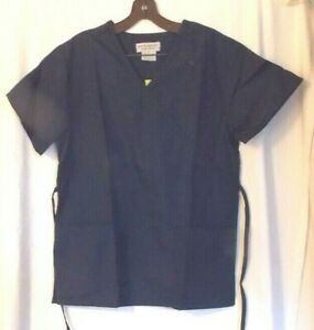 WOMEN  65/% POLYESTER 35/% COTTON NATURAL UNIFORMS CEIL BLUE XL TOP /& PANTS