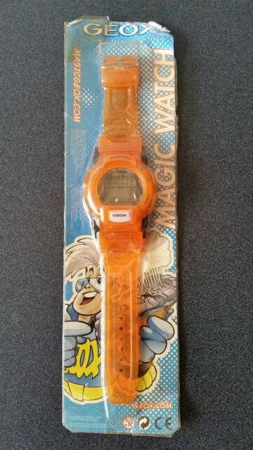 Geox Shoes Magic Watch LCD Promotional Children's Watch NEW 2005