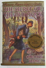 Nancy Drew #1 SECRET OF THE OLD CLOCK Applewood Dust Jacket
