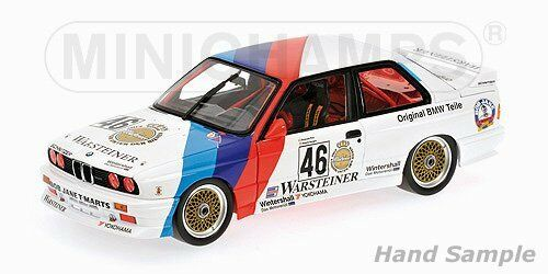 BMW M3  46 Class Winners Calder WTC 1987 - 1 18 - Minichamps