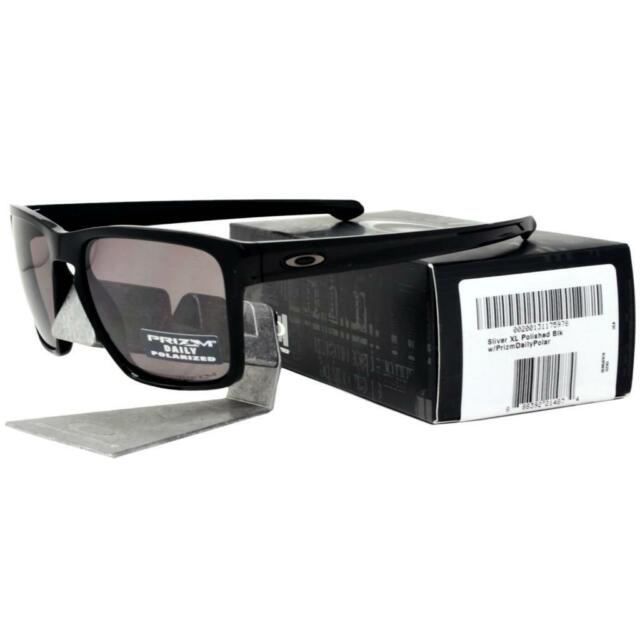23e043a8d5 Oakley OO 9341-06 POLARIZED SLIVER XL Black Prizm Daily Lens Mens Sunglasses