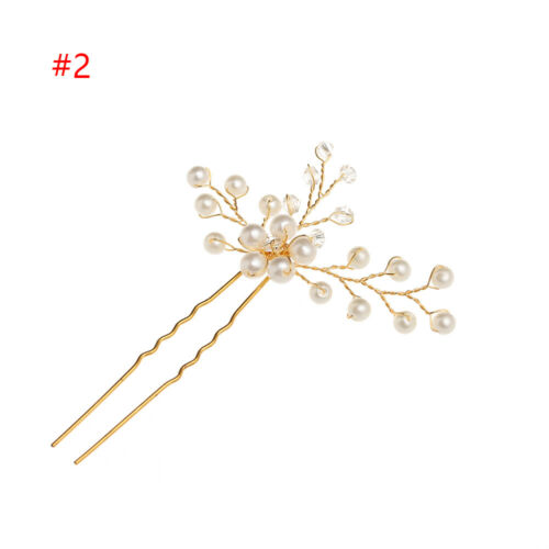 Jewelry Accessories Bridesmaid Tiara Hairpins Pearl Hair Pin  Bridal Clips
