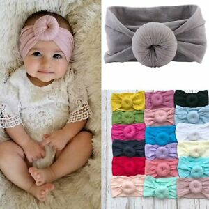 Kids-Girls-Baby-Toddler-Turban-Knot-Headband-Hair-Band-Accessories-Headwear-Cute