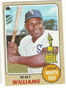 WALT-WILLIAMS-1968-Topps-172-ROOKIE-NM-MT-MLB-Chicago-White-Sox-Vintage