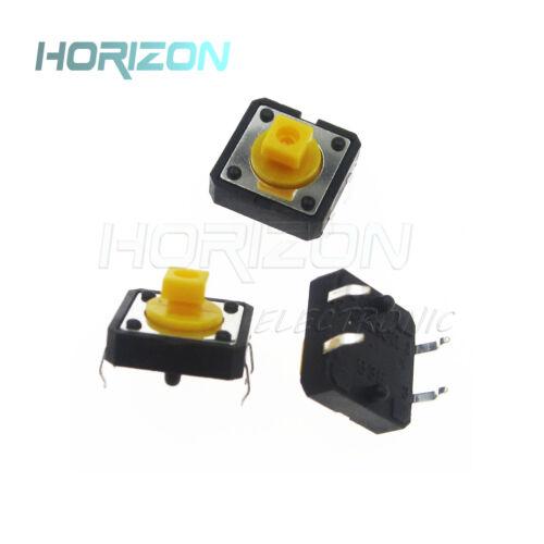 10PCS B3F-4055 Tactile Switch Key W// Keycap Push Button Switch 12x12x7.3mm