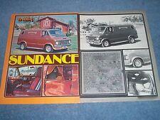 """1973 Dodge Tradesman Vintage Custom Van Article """"Sundance"""""""