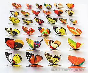 Colorful-Dummy-Butterflies-Artificial-Craft-Wedding-Festival-Supplies-3D-Effect
