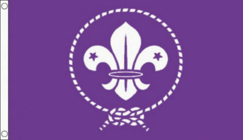 SCOUTS FLAG 5/' x 3/' Cubs World Boy Scout Movement Girl Scouting