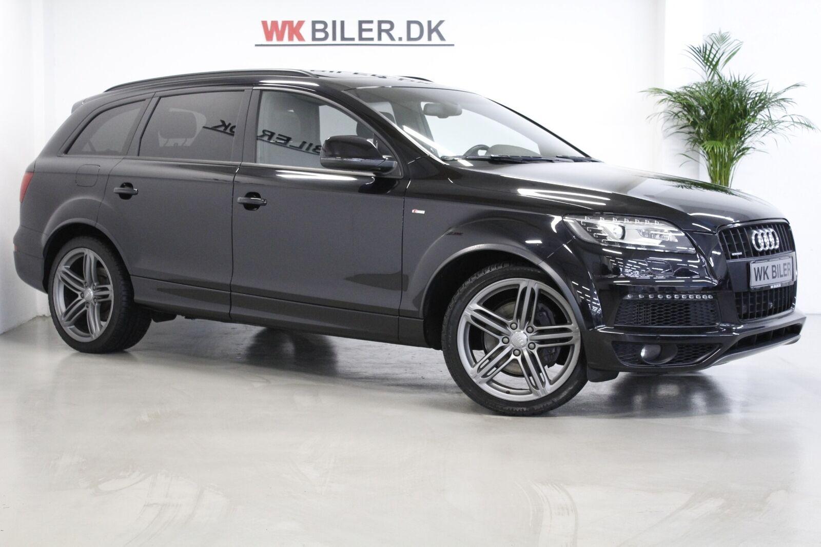 Audi Q7 3,0 TDi 245 S-line quat. Tiptr. 7p 5d - 3.493 kr.