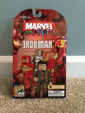 Marvel Minimates Iron Man Through the Ages Box Set Modular CEO Cheap Intl Ship