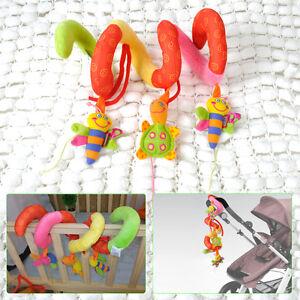 Hot-Infant-Pram-Baby-Crib-Lathe-Activity-Spiral-Toy-Stroller-Car-Cot-Hanging-Toy