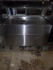 Alto Shaam Ed2 48p Self Serve Hot Display Case With Stainless Steel Base