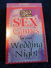New Boston America Corp, 52 Sex Games for Your Wedding Night Adult Card Game
