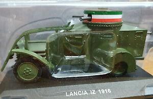 Lancia-IZ-Automitragliatrice-1ZM-1916-Carabinieri-Scala-1-43-Atlas-Nuovo
