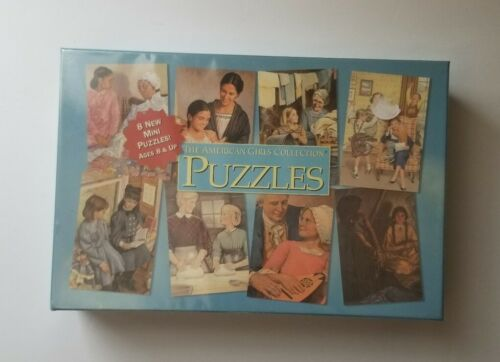The American Girls Collection Puzzles set of 8 x48pc Sealed NEW in BOX Free Ship