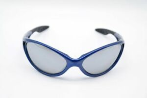 Protect-Modern-64-18-Blue-Oval-Sunglasses-New