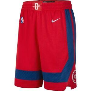 New-Nike-2019-2020-Detroit-Pistons-City-Edition-Swingman-Performance-Shorts