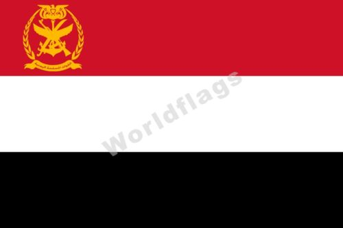 Yemen Flag 3X5FT Presidential Yemeni Army Armed Forces Navy Air Force Banner